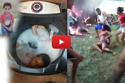 Viral,Ada Seorang Janda Muda Dibakar Hidup.Hidup Kerena Tega Bunuh Anak Kedalam Mesin Cuci!