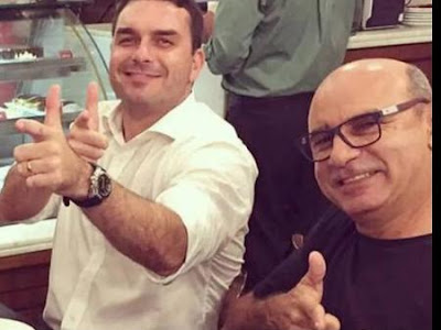 Flávio Bolsonaro, Fabrício Queiroz,