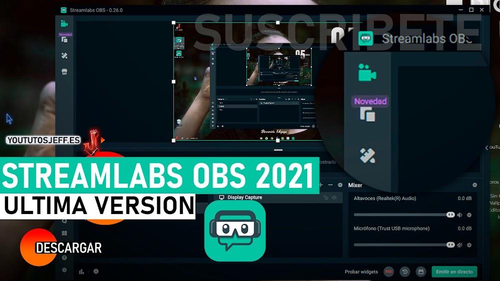 Descargar Streamlabs OBS Ultima Version 2021 Español