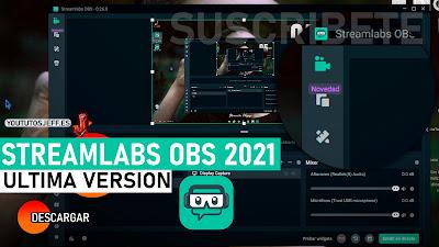 descargar streamlabs obs 2021