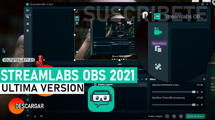 Descargar Streamlabs OBS Ultima Version 2021 Español