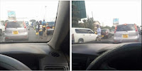 "Are these KIKUYUs who were singing Tano Tena? PHOTOs from Mombasa Road, ""Uthamaki is garbage""."