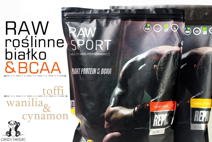 Białko wegańskie RAW SPORT ELITE Repair + BCAA