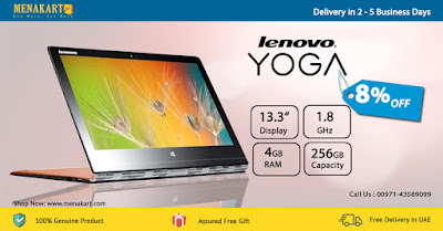LENOVO Yoga 13.3 Inch QHD+ Laptop 900