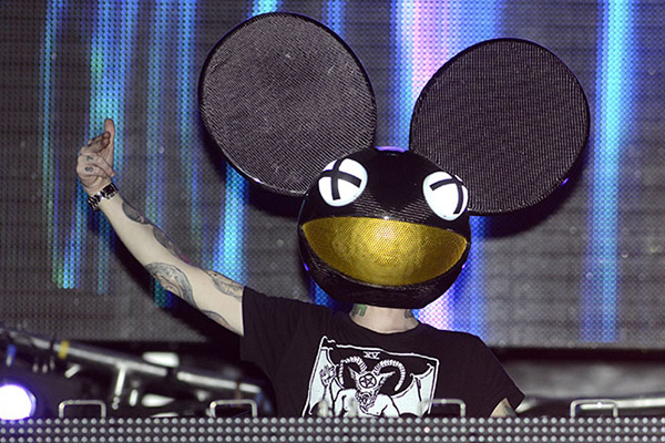 Deadmau5 Lots of shows in a row