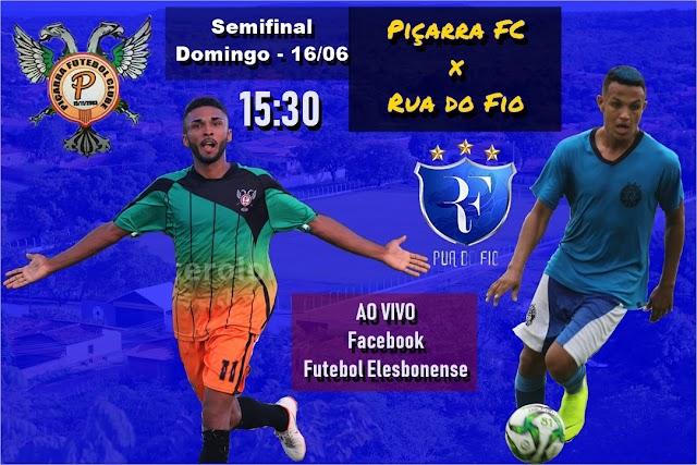 Piçarra FC e Rua do Fio fazem segunda semifinal seguida de Copa Cidade