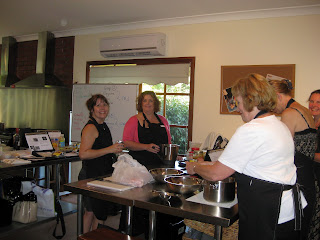 Thermomix Team busy at work | becs-table.com.au