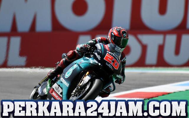 Fabio Quartararo Usai Kecelakaan Hebat Di MotoGP Aragon