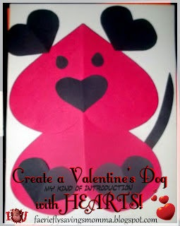 Valentines Day Dog Craft