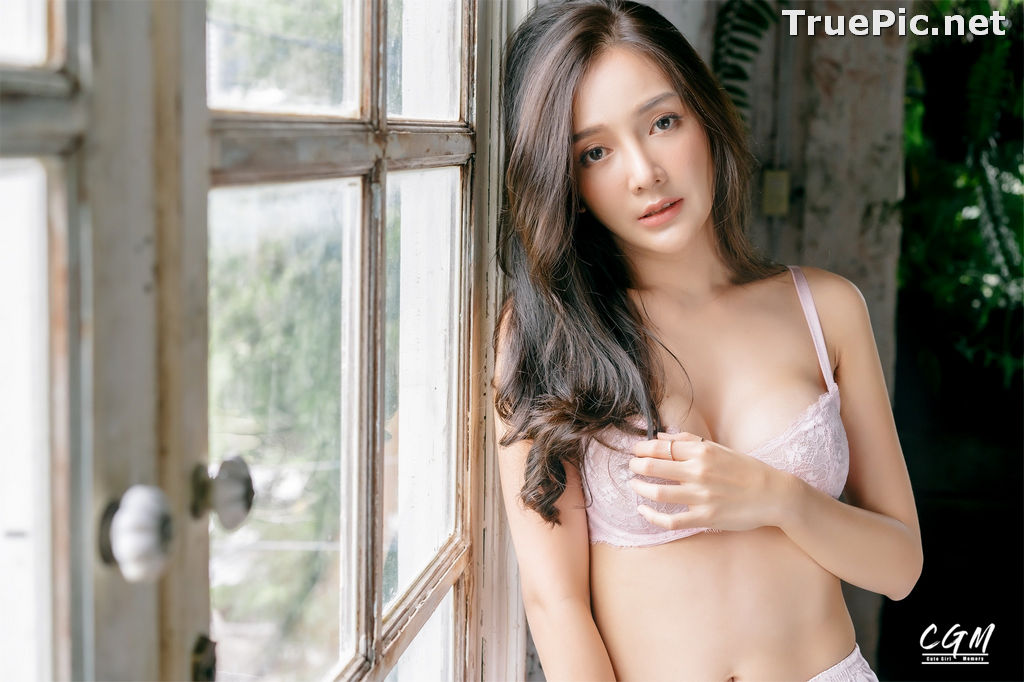 Image Thailand Model - Rossarin Klinhom - Beautiful Girl and Pink Lingerie - TruePic.net - Picture-9