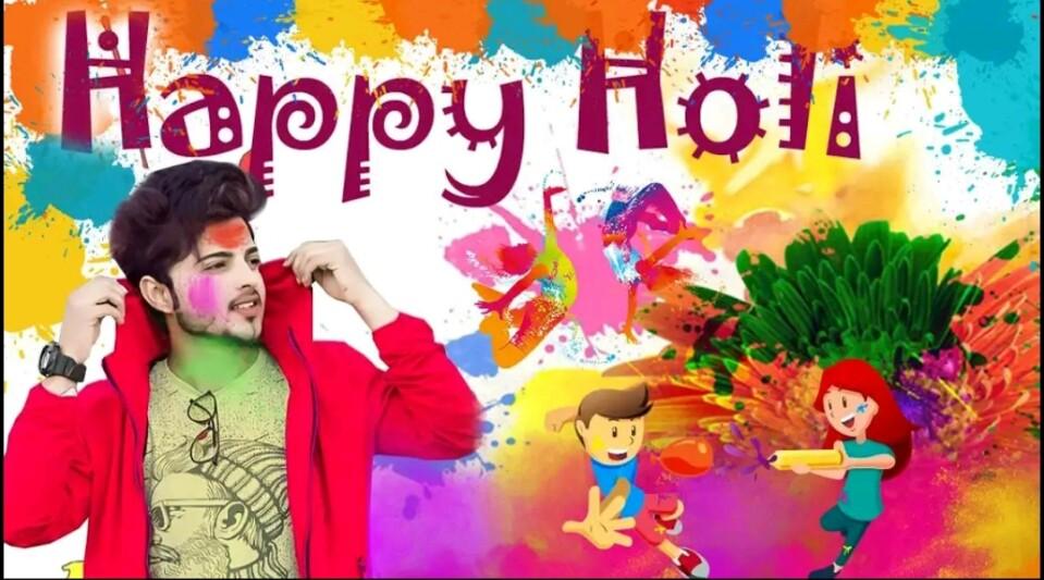 Holi Photo Editor Application : make Awesome Pics