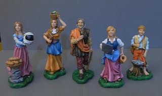statuine presepe personalizzate famiglia passioni pastorelli milano orme magiche