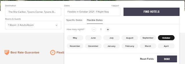 How to Use Marriott Flexible Dates Search to Find the Lowest Rate