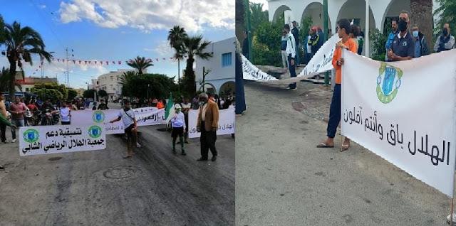 رئيس بلدية الشابة يعلن إستقالته والمدينة في إضراب عام !