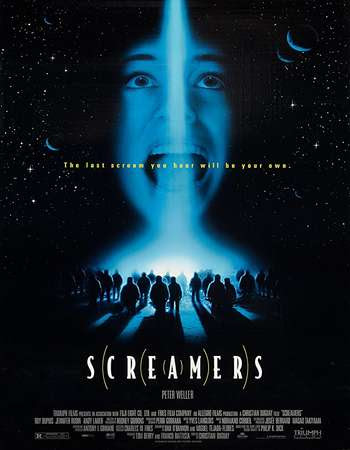Poster Of Free Download Screamers 1995 300MB Full Movie Hindi Dubbed 720P Bluray HD HEVC Small Size Pc Movie Only At worldfree4u.com