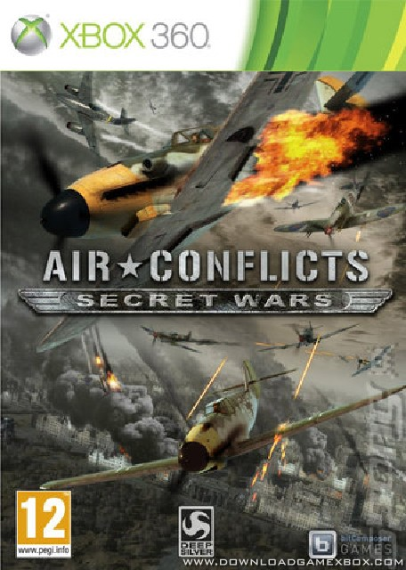 Air Conflicts Secret Wars [Jtag/RGH] - Download Game Xbox