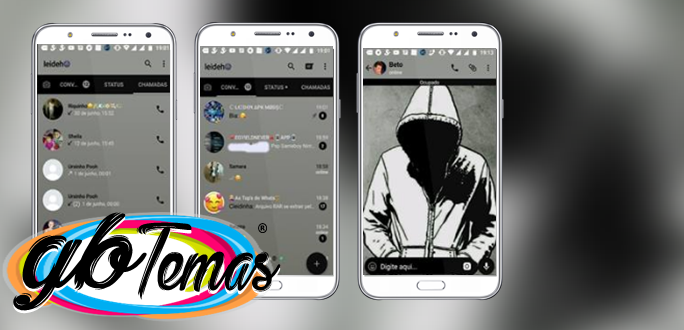 Tema GBWhatsapp - Anonymous 6