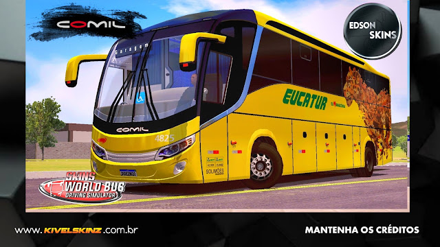 COMIL 1200 4X2 - VIAÇÃO EUCATUR ONÇA