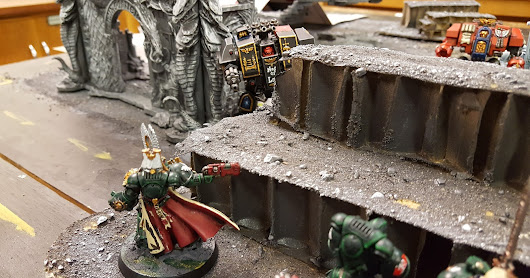 Battle Summary: Dark Angels vs. Blood Angel Dreadnought Party