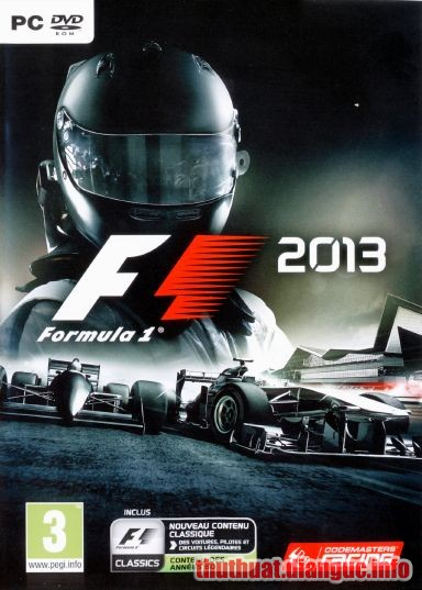 Download Game Đua Xe F1 2013 Full Crack