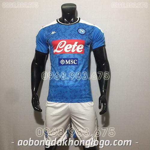 Áo CLB Napoli màu xanh 2020