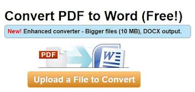 Cara Membuat (Convert) File PDF Offline dan online