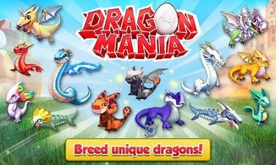 pada kesempatan kali ini admin akan membagikan sebuah game mod apk terbaru yang bergenre  Dragon Mania v4.0.0 Mod Apk (Unlimited Money+Gems)