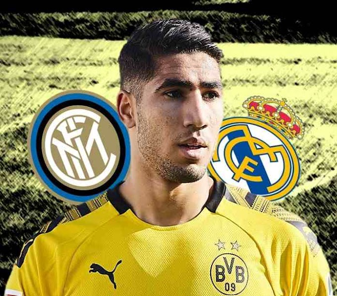 Antonio Conte - Inter Milan close to signing of Real Madrid defender Achraf Hakimi