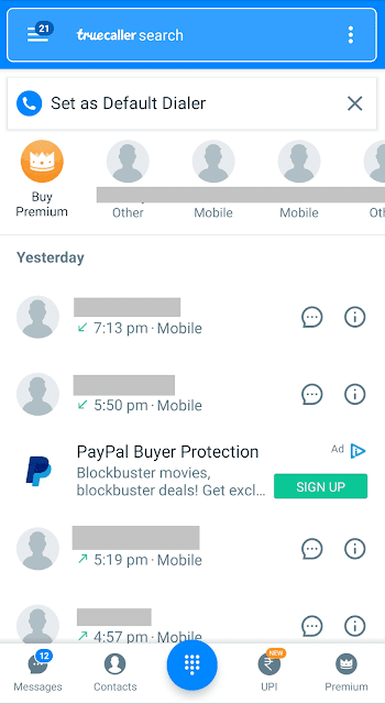 Find Details of Unknown Numbers on TrueCaller