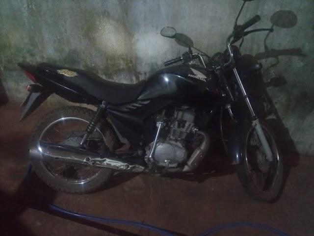 Motocicleta é apreendida com menor de idade por crime previsto na Lei de Trânsito em Aroazes