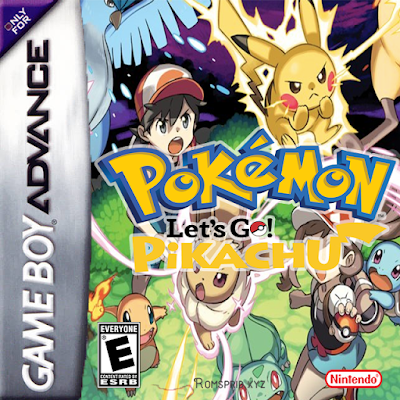 Pokemon Lets Go Pikachu GBA ROM Download