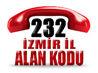 0232 İzmir telefon alan kodu