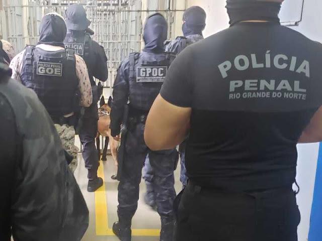 """SEAP deflagra """"Operação Saturação"""" para revistar todas as celas das unidades prisionais do RN"""
