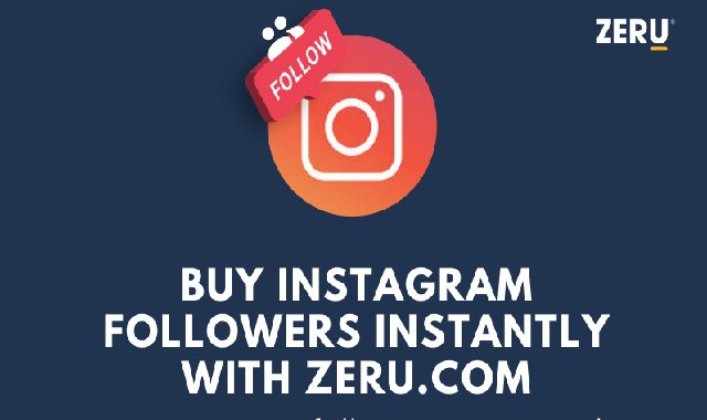 Buy Instagram followers instantly with Zeru.com #infographic