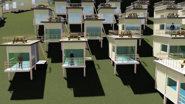 site plan resort dwg