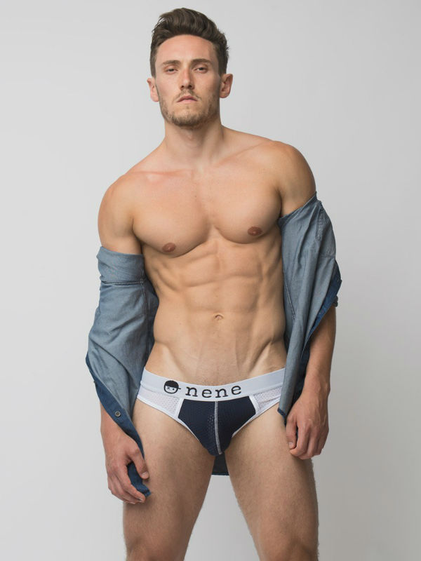 Huge Bulge Alex Varcas Shirtless by Jade Young