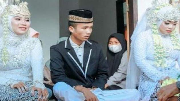 Lagi-lagi Viral, Seorang Laki-laki di Lombok Menikahi Dua Wanita Sekaligus, Istri Pertama Cuma Bisa Pasrah: Saya Bisa Apa, Namanya Sudah Takdir, Saya Terima Saja