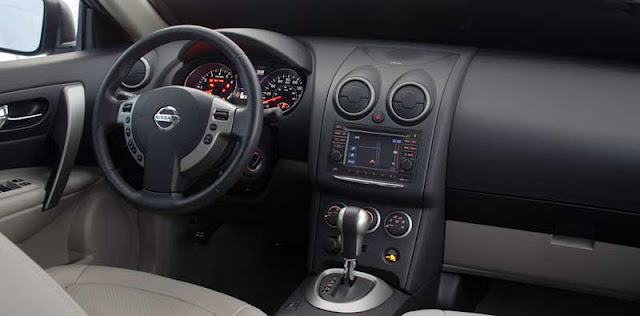 2012 Nissan Rogue SV dashboard - Subcompact Culture