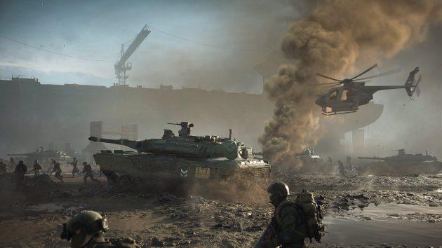 The new Battlefield 2042 is shown - it brings futuristic warfare
