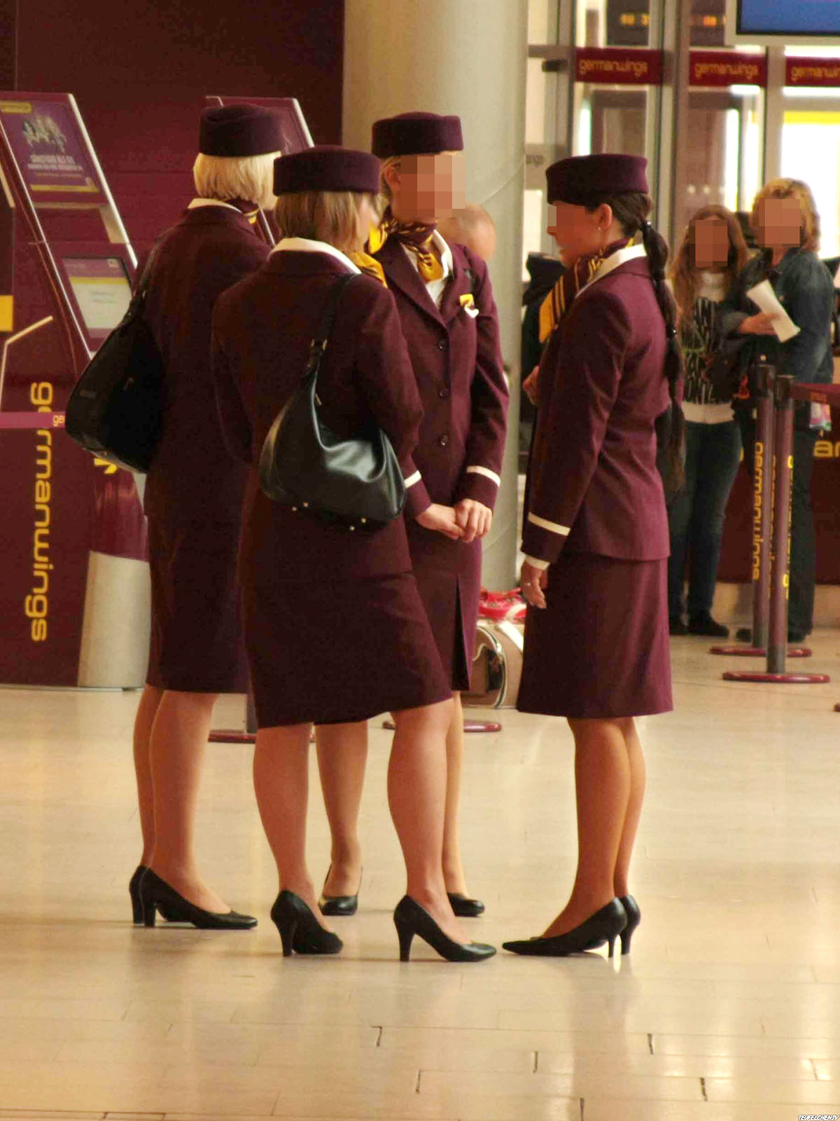 world stewardess crews the airline germanwings. Black Bedroom Furniture Sets. Home Design Ideas