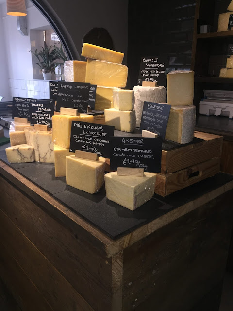 Ham and Friends cheese room