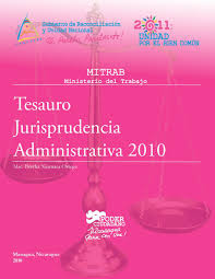 Tesauro 2010, Jurisprudencia Administrativa Laboral