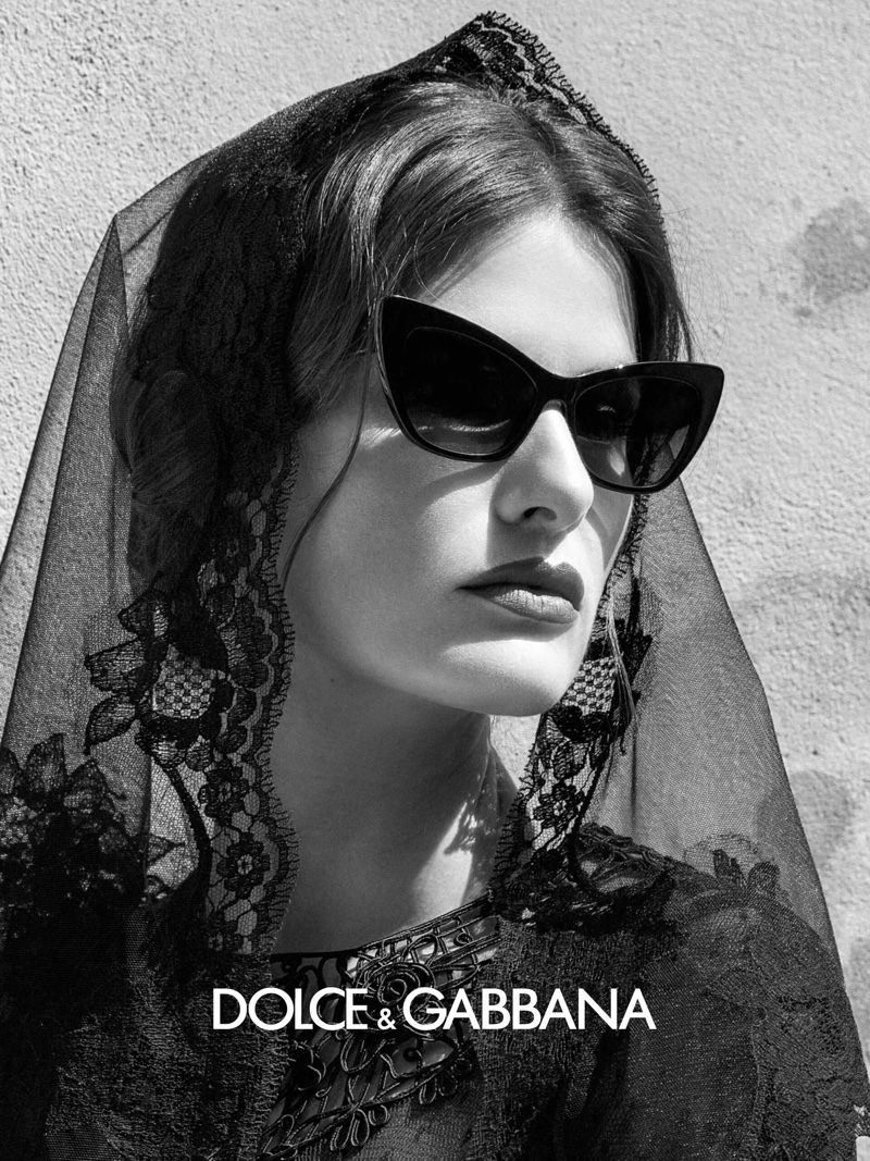 Isabeli Fontana fronts Dolce & Gabbana Eyewear spring-summer 2020 campaign