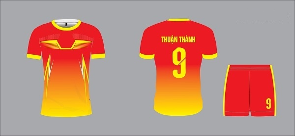 Mẫu đồng phục bóng đá 9