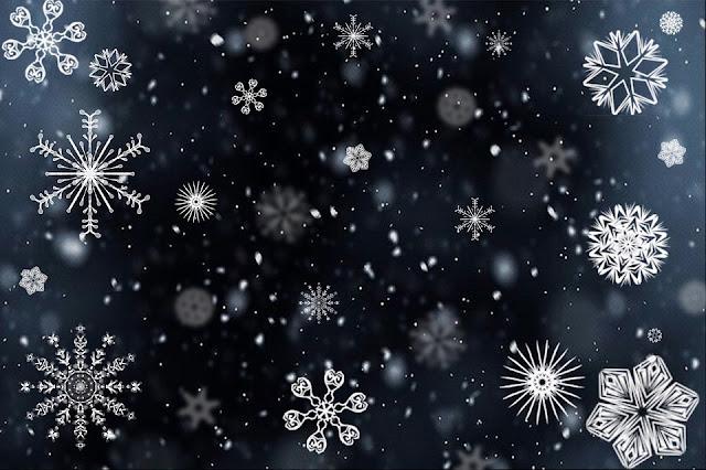 APRENDA Flocos de neve para enfeitar o natal passo a passo com Moldes