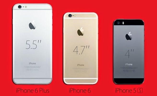 Perbandingan spesifikasi iphone 6s dan 6 plus | Perbedaan