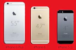Perbedaan Spesifikasi Antara iPhone 6 dan iPhone 6 Plus