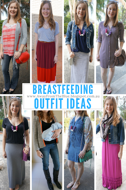 what to wear when breastfeeding ultimate guide with outfit ideas | away from the blue blog
