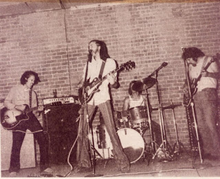 A 1973 photo of Uther Pendragon at The Shelter in San Jose.  Photo courtesy of Craig Pedersen.