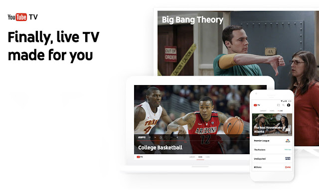 YouTube TV: Google's new live and streaming TV service is official